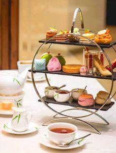 An #afternoon #tea set like never before! @MO_BANGKOK