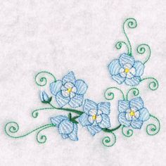 Free Embroidery Design: Abstract flower