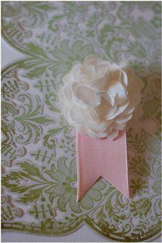 DIY - Linen Flowers - The Bride's Cafe