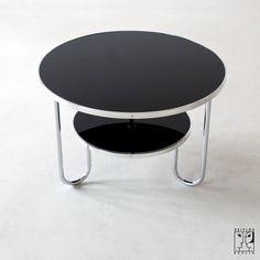 Stahlrohr Schlaufentisch von Mauser - Bild 4