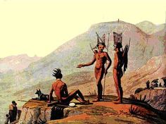 The people most likely to be displaced and enslaved by the Trekboer were the Khoikhoi, a pastoral people living in what is today South Africa. Derisively nicknamed the Hottentots.