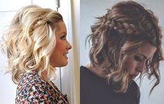 Peinados para pelo rizado corto. Looks con pelo muy corto, semirrecogidos para el pelo rizado y looks con el pelo afro.
