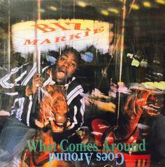 """Biz Markie - What Comes Around Goes Around 12"""" REPRESS PORA4925 Cold Chillin"""
