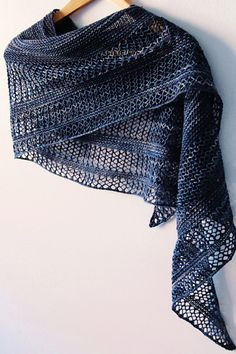 Ravelry: Interlude shawl with Knitlob's Lair Tuulen Tytär - knitting pattern by…