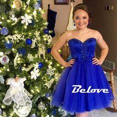 Blue Dress, Royal Blue Dress, Cocktail Dress, Party Dress, Tulle Dress, Royal Blue Cocktail Dress, Blue Cocktail Dress, Sweetheart Dress, Bow Dress, Royal Blue Party Dress, Blue Party Dress, Dress Party, Dress Blue, Cocktail Party Dress