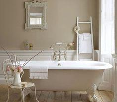 peinture-salle-de-bain-couleur-lin-Little-Green - Decoration maison, Idees deco interieur, astuces et peinture