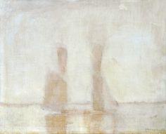 Mednyánszky László - vitorlások a ködben