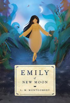 "Elly MacKay, cover art for ""Emily of New Moon"""