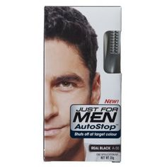 Just For Men AutoStop Foolproof Haircolour Black   £7.35 (FREE UK Delivery)  http://www.123hairandbeauty.co.uk/hair-products-c1/mens-c8/just-for-men-just-for-men-autostop-foolproof-haircolour-dark-brown-p542