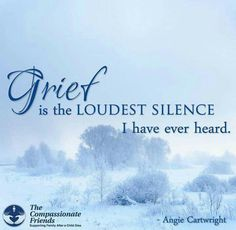 Grief is Loudest Silence