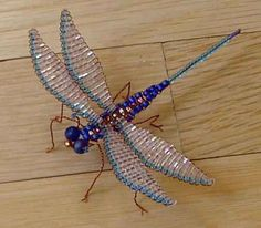 "BEADED INSECT BOOK ""Bead N' Bugs"""