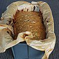 Banana bread aux flocons d'avoine et amandes - sans oeufs, sans beurre, sans lait - Les mignardises de lizon