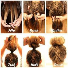 """Summer is coming tie up your hair enjoy the sun, shine with your """"Hairstyles""""with these simple yet chic and elegant easily worn hairstyle will make your day beautiful. Enjoy these Doodl…"""