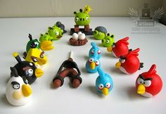 Angry Bird Cake Toppers Seen On www.coolpicturegallery.us