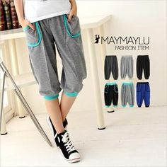 Cropped Pants from #YesStyle <3 Maymaylu Dreams YesStyle.com