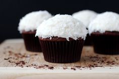 Chocolate Coconut Cupcakes - Your Cup of Cake