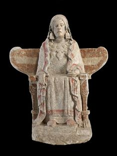 """theancientwayoflife: """"~ Lady of Baza. Place of origin: Baza, Granada, Spain Provenance: Cerro del Santuario necropolis, tomb 155 Culture/Period: Iron Age, Iberian """" Amenhotep Iii, Roman City, Early Middle Ages, Iron Age, Ancient Artifacts, Ancient History, Archaeology, Les Oeuvres, Egyptian"""