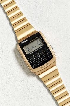 Casio Vintage Calculator Watch - Urban Outfitters