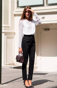 office look branco e preto