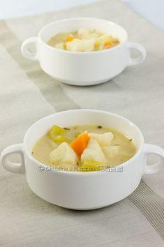 Creamy Fish Vegetable Soup