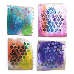 Painted Sticks, Bubble Wrap, Printmaking, Recycling, Bubbles, Objects, Activities, Simple, Centre