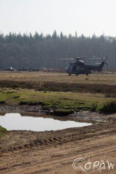Eurocopter op de Edese heide http://blog.qdraw.nl/gelderland/eurocopter-op-de-edese-heide/