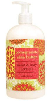 Pomegranate Shea Butter Lotion by Greenwich Bay Trading Co