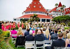 Hotel Del Coronado Wedding with Embellishmint Floral and Event Studio