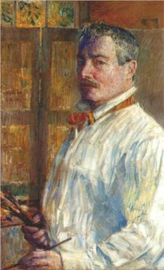 Self-portrait - Childe Hassam