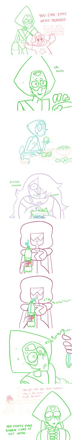I don't know whether to feel bad for Peridot or not :