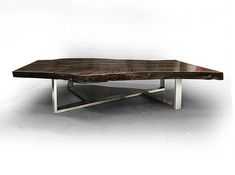 Live edge tables from fallen trees & reclaimed wood Fallen Industry Brooklyn NY