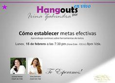 En 5min al aire #HangoutsCoachingPersonal Enlace para el evento: https://plus.google.com/events/cppvv3i4nuojbk2filnbtuuqhto