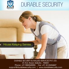 #HOUSE #KEEPING #SERVICES Visit Us at: www.durablesecurity.com Or Call Us at: +91 9883040055