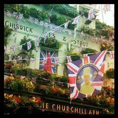 Still celebrating the Diamond Jubilee in #London #InstagramYourCity by @enikotsz