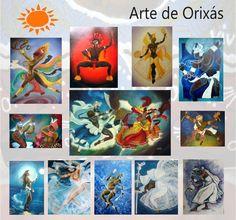 """""""ARTE DE ORIXÁS"""" by Nohémi. Artesanías Premium para cultos africanistas.Argentina  Envios nacionales e internacionales."""