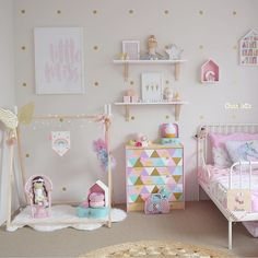 Get inspired by Eclectic Kids' Bedroom Design photo by Wayfair. Wayfair lets you find the designer products in the photo and get ideas from thousands of other Eclectic Kids' Bedroom Design photos. Girl Nursery, Girls Bedroom, Bedroom Ideas, Trendy Bedroom, 4 Year Old Girl Bedroom, Girl Toddler Bedroom, Toddler Girl, Loft Bed Curtains, Junior Loft Beds