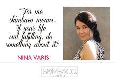 skimbaco lifestyle defined by Nina Varis