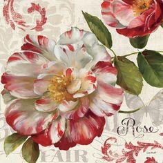 Spring Flair II by Lisa Audit art print