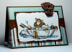 My Stamping Thyme: House Mouse Bath