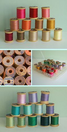 oh, to collect spools of thread ...