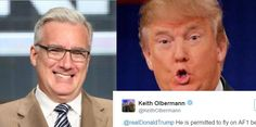 Trump Called Out Obama's Use Of Air Force One. Keith Olbermann's Response Is PERFECT