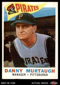 1960 Topps #223 Danny Murtaugh Pirates EX #Pirates