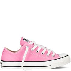 (UPDATE: GOT IT!) Chuck Taylor All Star low tops - Converse.com  I like pink, magenta, beach glass, or red. (I need an 8.5 but not sure they make half sizes... Tried them on and 8's are too small, 9's are too big) :(