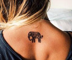 [elephant] >> [tattoo]