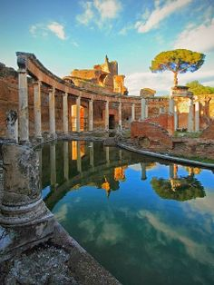 Rome Hadrian's Villa in Tivoli