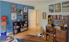 Casual Traditional Kid's Room by Karen Watson