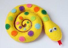 Snake Felt