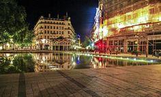 Reflejos de Lyon. Lyon, Francia. Canon 60D La place de la Republique