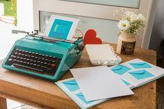 decoração casamento máquina de escrever - Pesquisa Google