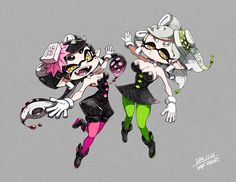 splatoon | Squid Sisters #Callie #Marie